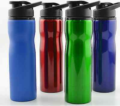 700ml Stainless Steel Cycling Sports Waist Wide Mouth Water Bottle American Type