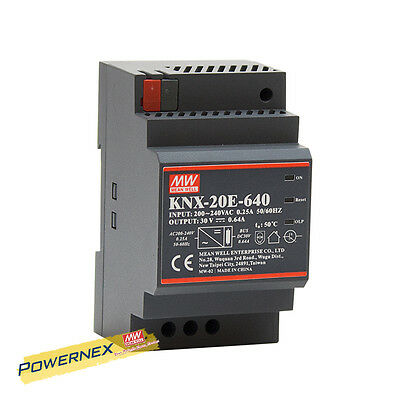 MEAN WELL NEW KNX-20E-640 30V 640mA 19.2W AC-DC Power Supply Блоки питания