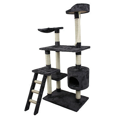 New Cat Scratching Post Tree Gym Pet House Furniture Climbing Poles Large Multi