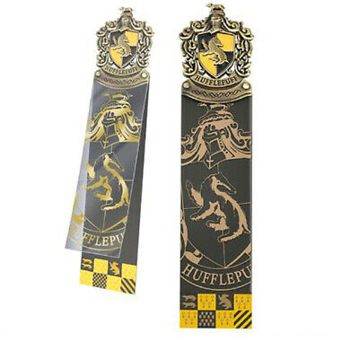Harry Potter : HUFFLEPUFF CREST BOOKMARK from The Noble Collection NOB8718