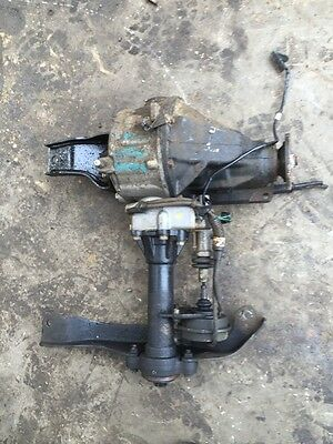 Diff Ford Courier /mazda Bravo Electric 4wd Type 9/01-06