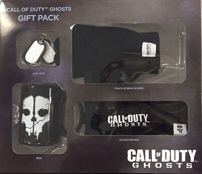 Call of Duty Ghosts Gift Pack - Mug, Hat, Dog Tags & Touch Screen Gloves