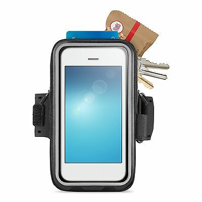 Belkin Storage Plus Fitness Armband for iPhone 6 and iPhone 6s - Black