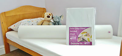 The Little Bed JOEY Pack - for COT BEDS - 100% COTSAFE foam bed guard bumpers