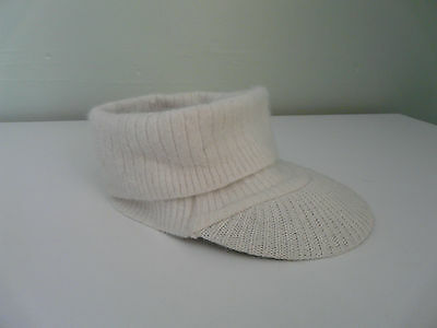 Wholesale Job Lot Monsoon Accessorize Ladies Cream Wool Angora Winter Visor X 15