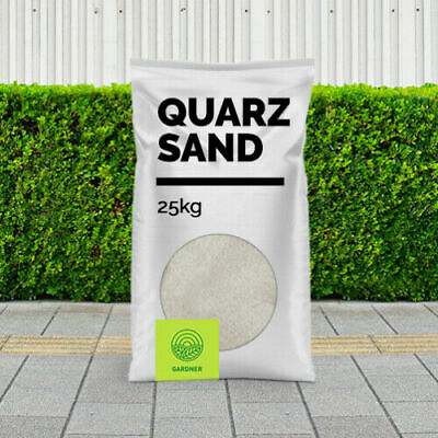Quarzsand 0/3mm Sackware, Pflasterfugensand, Beach - Sand, 25kg - 1000kg