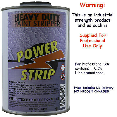 Power Strip Best Industrial Strength Heavy Duty Paint Stripper Remover 1Litre