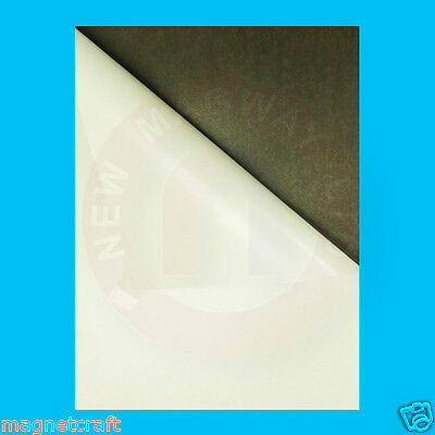 Magnet sheet with adhesive
