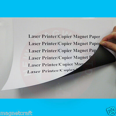 All purpose magnet paper for laser/inkjet printers and copiers