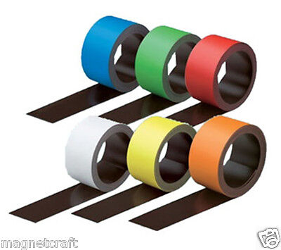 Color dry erase magnet strip roll ( 25 feet long 6 color avaialble)