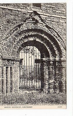 SOUTH GATEWAY, WHITHORN: Wigtownshire postcard (C1687).