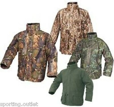 Jack Pyke Hunters Jacket English Oak Woodland Wildlands Camo Green Stealth New