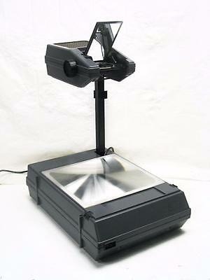 3M PORTABLE OVERHEAD TRANSPARENCY PROJECTOR Refurb. with NEW EVW LONG LIFE LAMP
