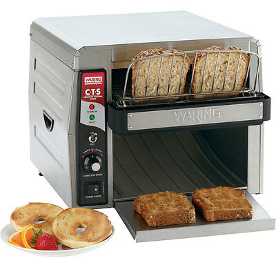 Waring CTS1000 Commercial Conveyor Type Electric Toaster - 120V 929CTS1000