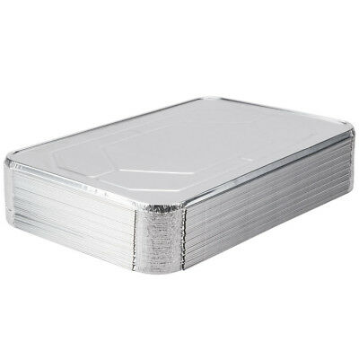 Choice Full Size Foil Steam Table Pan Lid - 50 / Case