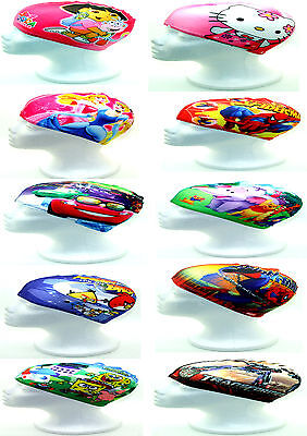 Novelty Stretch Fabric Swimming Cap - Shower Cap - One Size - Children's Styles
