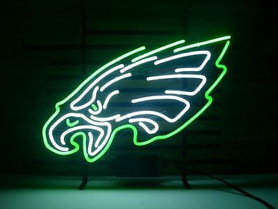 New Eagle Real Glass Neon Light Sign Home Beer Bar Pub Sign B26