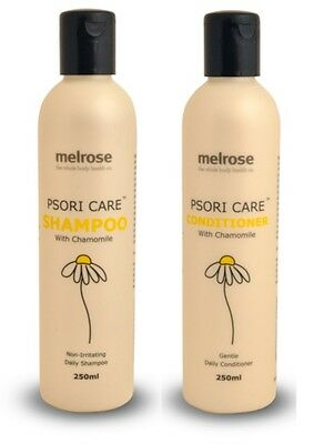 Psoriasis - Shampoo & Conditioner w Chamomile for Itchy, Dandruff, Dry Scalp