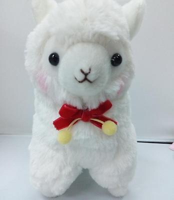 7'' Alpacasso Amuse Velvet Ribbon Llama Animal Alpaca Stuffed Plush Doll Toy