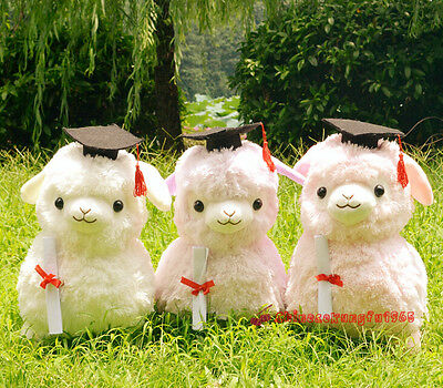 18'' Alpacasso Baby Amuse Docter Graduation Ceremony Llama Alpaca Stuffed Plush