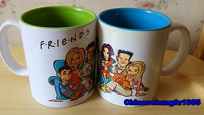 TV Serious Friends Mug Coffee Cup Ross Rachel Joey Monica Phoebe Chandler New