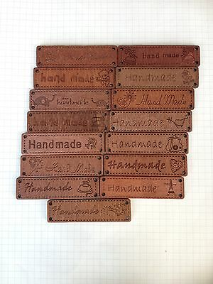 64MMx17MM Big Rectangle Retro Handmade Carved Wood Button Tag Four Hole