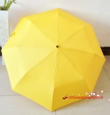 TV Serious How I Met Your Mother Umbrella Yellow Folding Small Anti Rain Sun