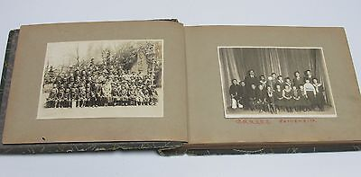 About 100 photo album Japanese Imperial Army soldier student family 1937 - 1941