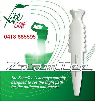 Zoom Tee Golf Tee with Free Ball Markers