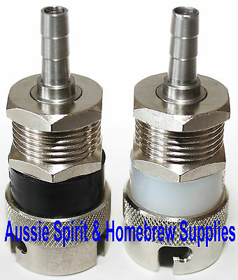 New Turret Pin Lock Bayonet Home Brew Beer Post Mix Keg Stainless Steel Fittings