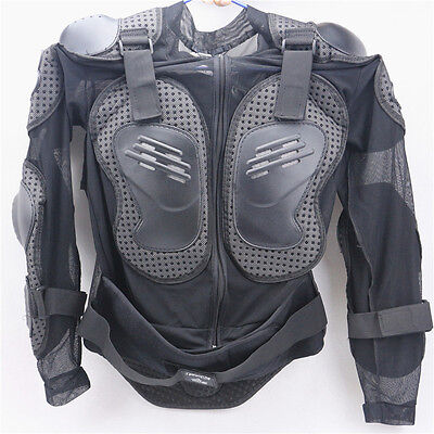 UK Motorcycle Motorcross Jacket Body Armour Suit Moto Racing Protective Clothes