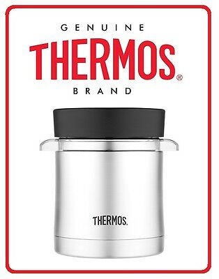 ❤ Thermos Vacuum Insulated Food Jar Microwavable Container 355ml Stainless Steel