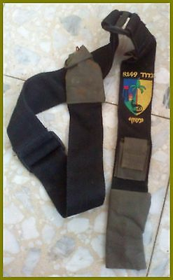 belt rifle gun m16 idf militaryTactical holster Genuine Strap battalion 8149
