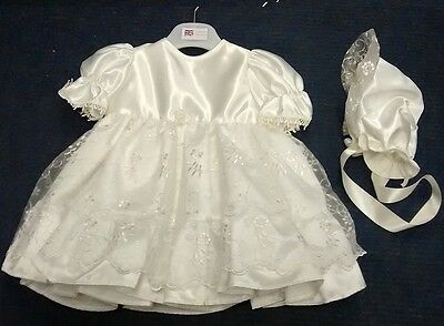 Christening Dress Ivory Made In England By Phoenix New