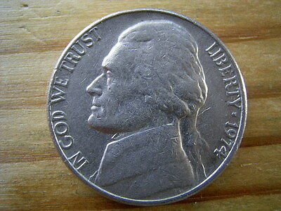 1974  usa 5 cent  nickel coin collectable