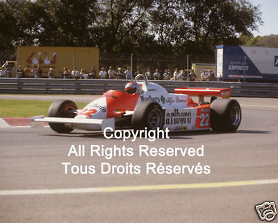 Alfa Romeo Mario Andretti F1 Formula One 1981 Photo #14