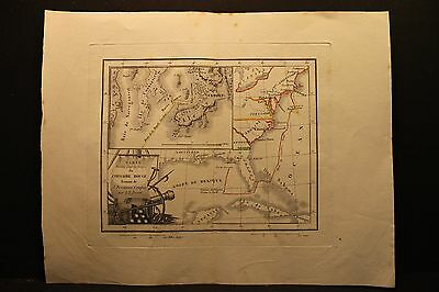 Red Corsair, James Fenimore Cooper, A. M. Perrot Map, Engraving 1835