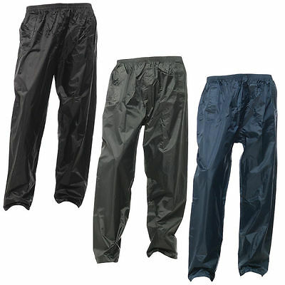 New Regatta Stormbreak Waterproof Over Trousers Rain Fishing Hiking Leggings