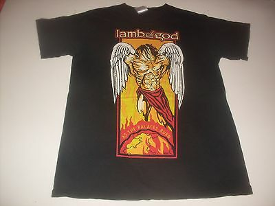 "Lamb Of God ""As The Palaces Burn"" rock  tee-shirt size adult Small"
