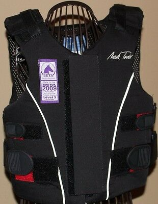 Mark Todd Horse Riding Back Body protector safety vest - Child MEDIUM