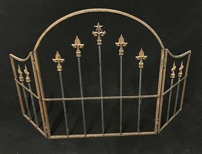 Antique Fireplace Screen Gate