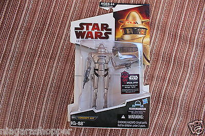 STAR WARS*Legacy Collection*BD40*Concept Art*McQuarrie *IG-88*Droid Factory*2009