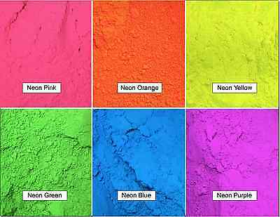 Mica ~ Neon Pigment Color Powder ~ for Soap Making ~ Cosmetics ~ Nail Polish