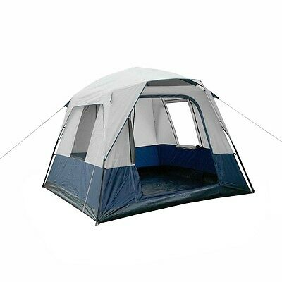 New Tent 4 Person Family Dome Outdoor Camping Double Layer Waterproof Four