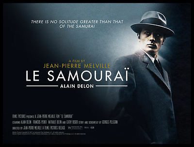 Le Samourai FRIDGE MAGNET 6x8 Alain Delon Classic French Movie Poster on Canvas