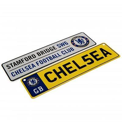 Chelsea FC 2-Sign pack (Window Sign and Fridge Magnet) - Official Merchandise