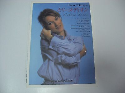 CELINE DION Piano Collection JAPAN PIANO SCORE BOOK  1997