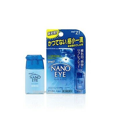 ROHTO LYCEE NANO EYE Medicated Cooling Eye Drops 6ml - Japan FAST AIRMAIL