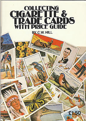 Book - Collecting Cigarette & Trade Cards With Price Guide -  By  C. W.  Hill