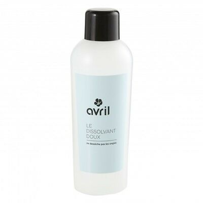 dissolvant pour ongles vernis  200ml sans acétone naturelle made in france